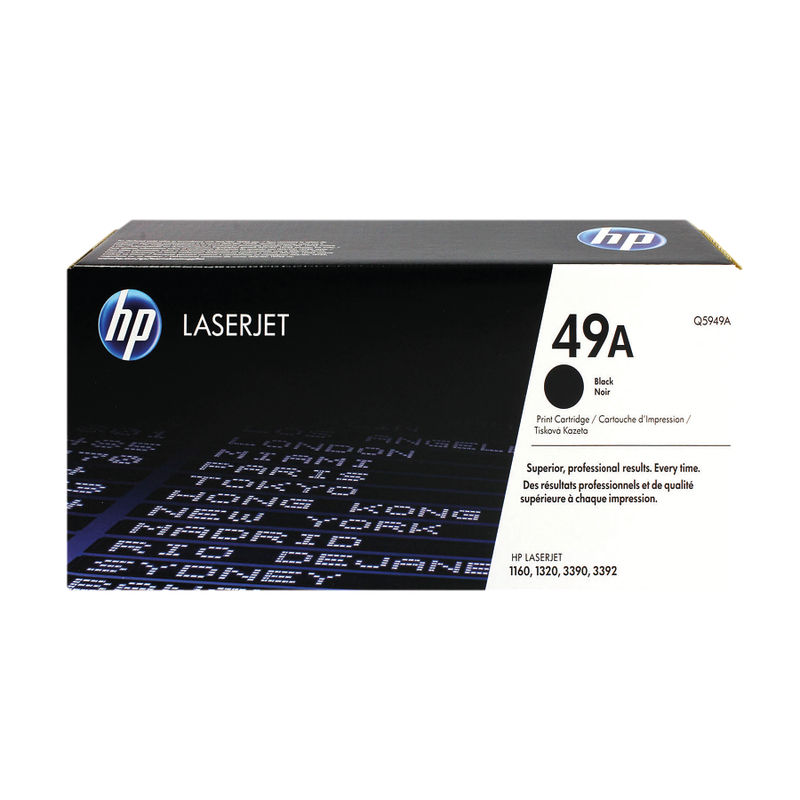 HP No.49A Black Toner | Medical Supermarket