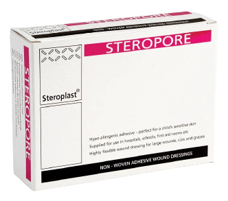 Steropore Adhesive Wound Dressing 8.6cm x 6cm | Medical Supermarket