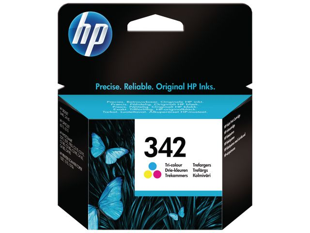 HP No.342 Tri-Colour Ink Cartridge | Medical Supermarket