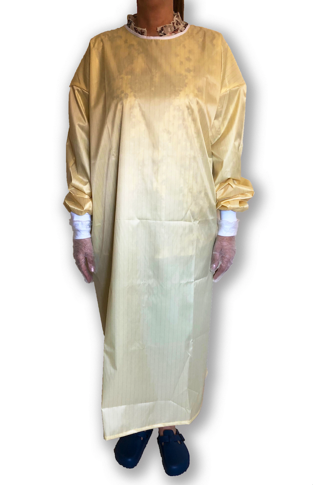 Washable Fluid Resistant Isolation Gown | Medical Supermarket