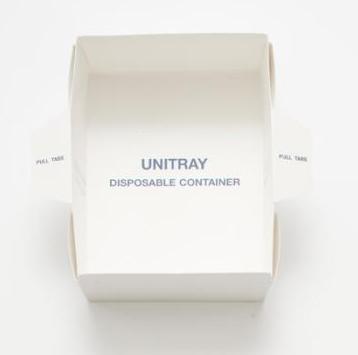 Unitray 800ml single wrapped | Medical Supermarket