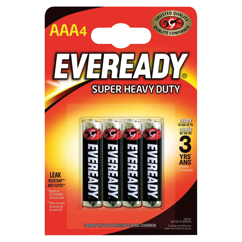 Eveready Everyday Batteries AAA Batteries | Medical Supermarket