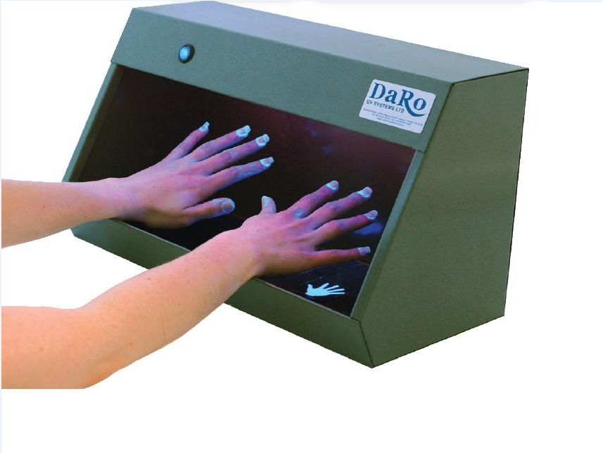 DaRo UV Systems Hand Inspection Cabinet Starter Kit | Medical Supermarket