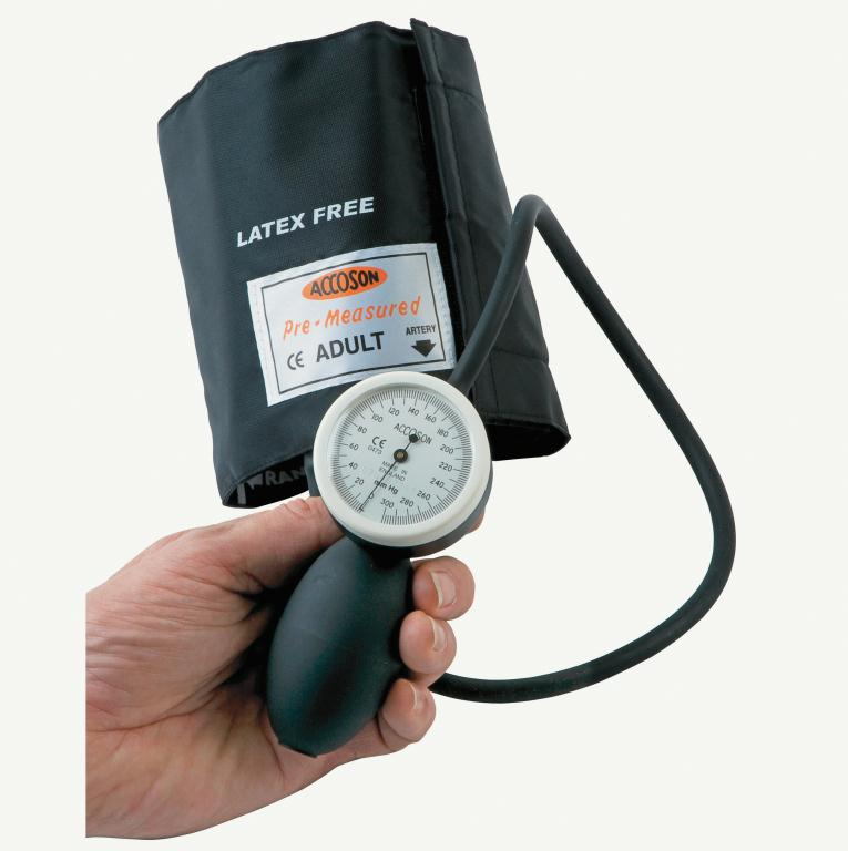 Accoson Limpet Aneroid Blood Pressure Monitor Straight Tube & Adult Ambidex Cuff | Medical Supermarket