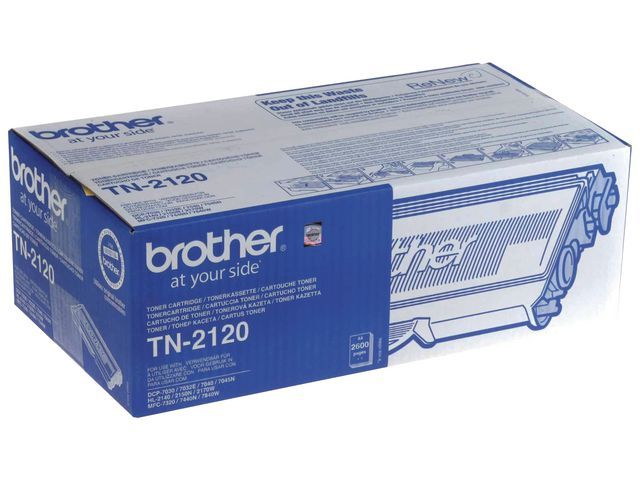 Brother TN2120 High Capacity Toner | Medical Supermarket