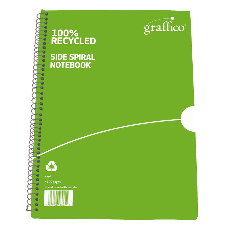 Recycled Wirebound Notebook   Medical Supermarket