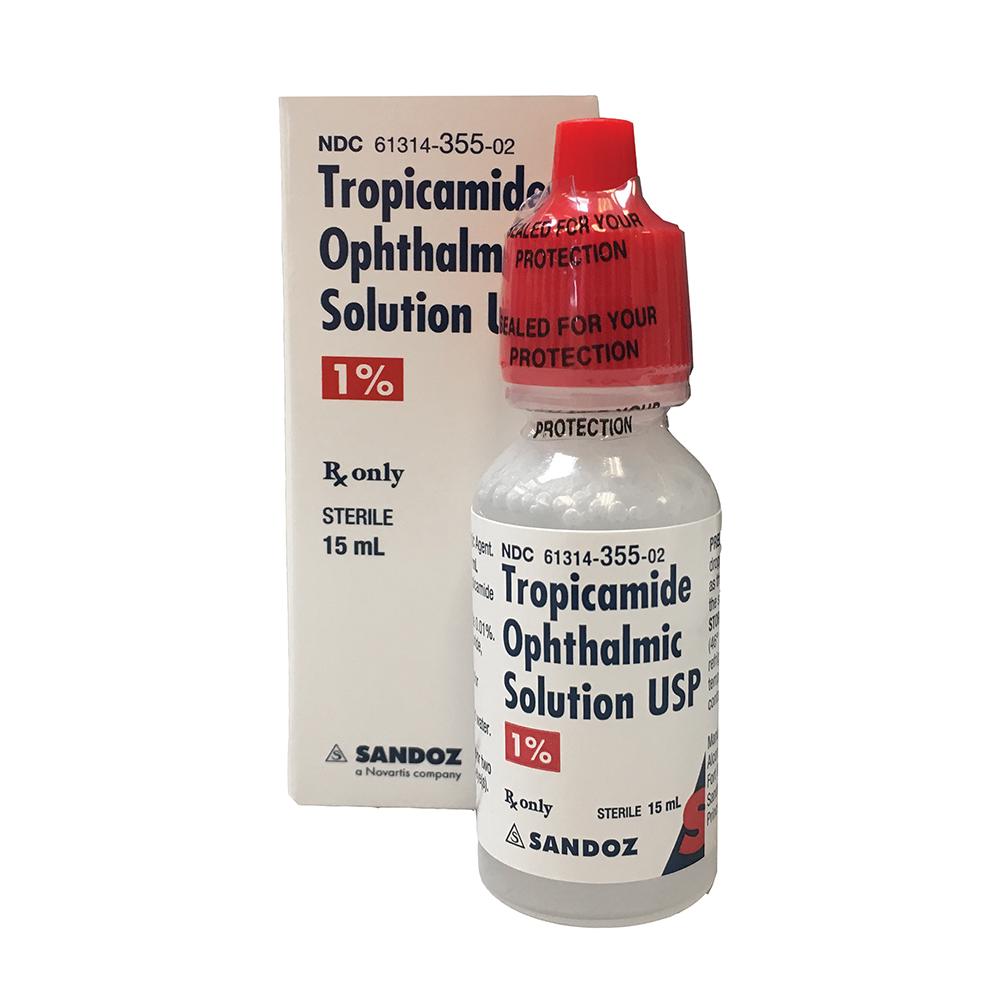 (POM) Tropicamide Eye Drops - 1% Dropper - (Pack 20) | Medical Supermarket