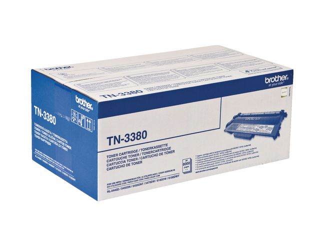 Brother TN3380 High Capacity Black Toner | Medical Supermarket