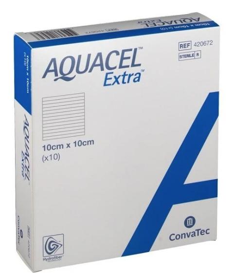 Aquacel Extra Dressing 10cm x 10cm   Medical Supermarket