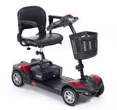 Scout Four Wheel Mini Scooter - Red   Medical Supermarket