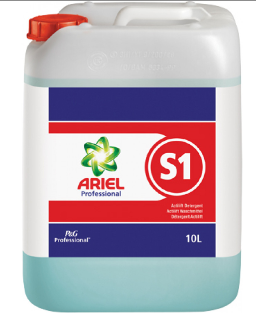 P&G Ariel Professional S1 Actilift Concentrate Detergent 10L | Medical Supermarket