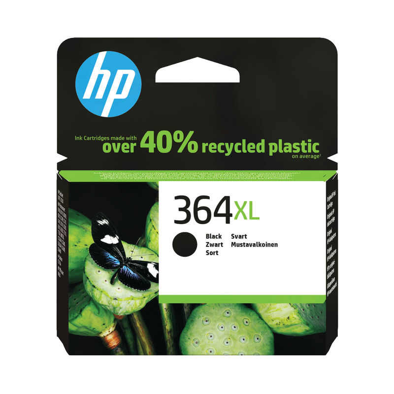 HP No.364XL High Capacity Ink Cartridge Black | Medical Supermarket