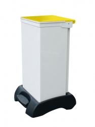 Fire Retardant 75 Litre Sackholder Plastic Base Metal Body | Medical Supermarket