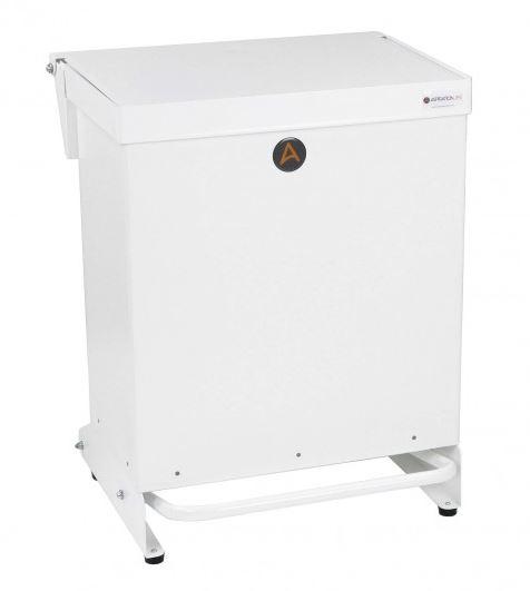 40L Tidy Bin - No Soft Close - White Lid | Medical Supermarket