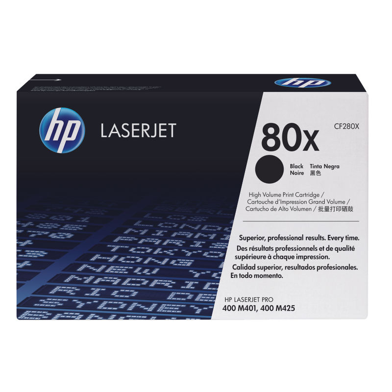 HP No.80X High Capacity Black Toner | Medical Supermarket