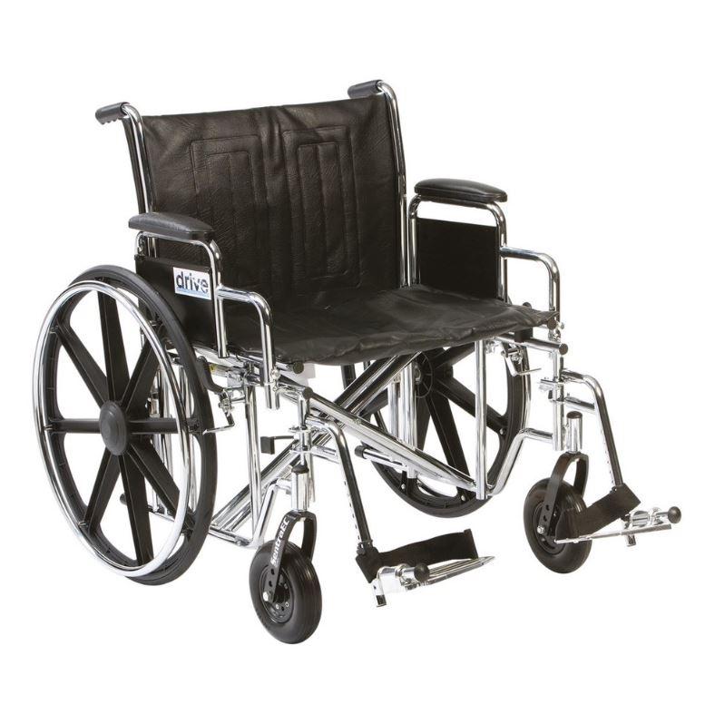 24'' Sentra EC Wheelchair | Medical Supermarket