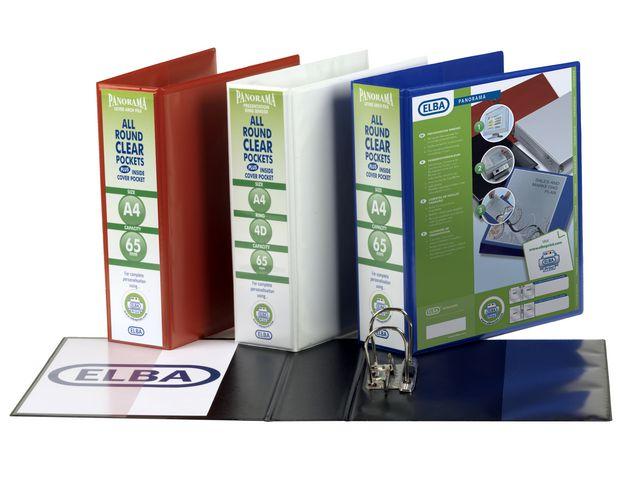 ELBA Panorama Maxi, 70mm Blue   Medical Supermarket