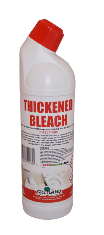 Thickened Bleach 1 Litre-Pack of 1 | Medical Supermarket