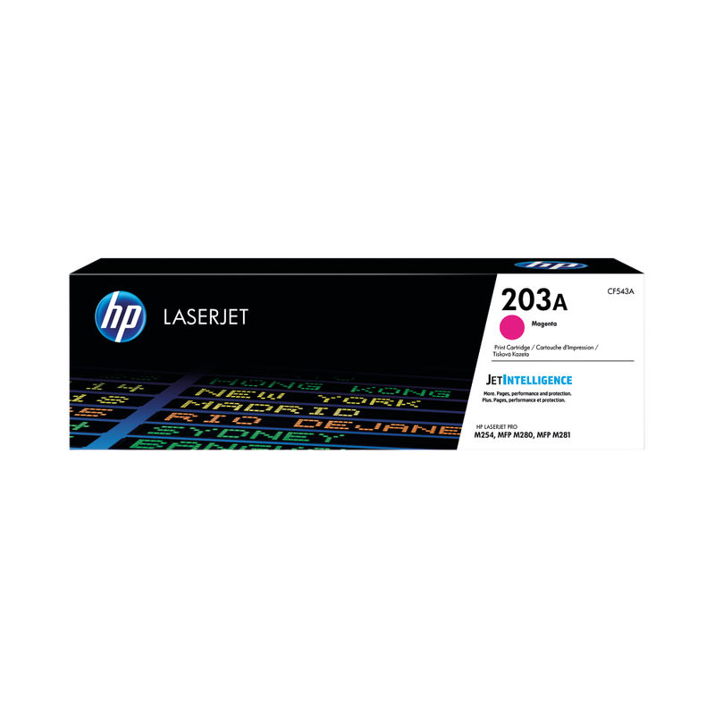 HP 203A Laser Jet Toner Cartridges Magenta | Medical Supermarket