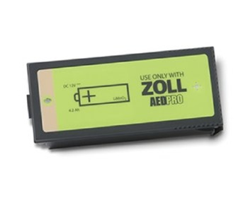 Zoll AED Pro Non-Rechargeable Lithium Battery   Medical Supermarket