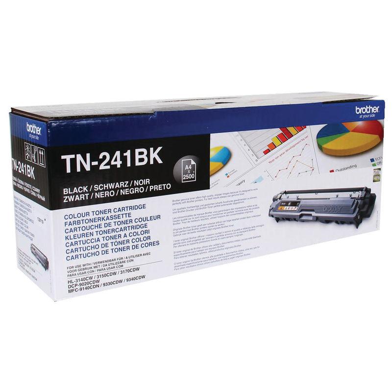 Brother TN241 Toner Black | Medical Supermarket
