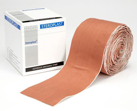 Premium Elastic Fabric Plaster Dressing Strips 4cm x 1m   Medical Supermarket