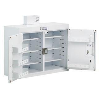 Bristol Maid Double Door Drug Cabinet 800 x 300 x 900mm | Medical Supermarket