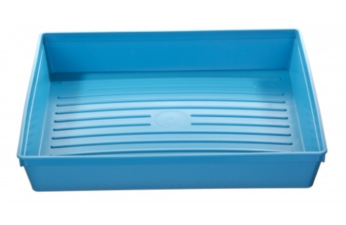 Warwick Sasco Instrument Blue Tray 300 x 250 x 52mm | Medical Supermarket