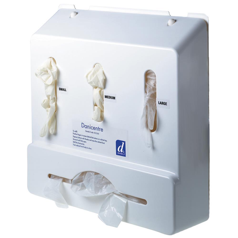 DaniCentre Basic Glove and Apron Dispenser | Medical Supermarket