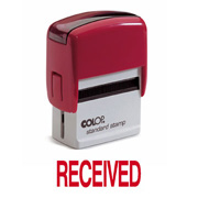 Colop Printer 20 RECEIVED Self-Inking Stamp Green | Medical Supermarket