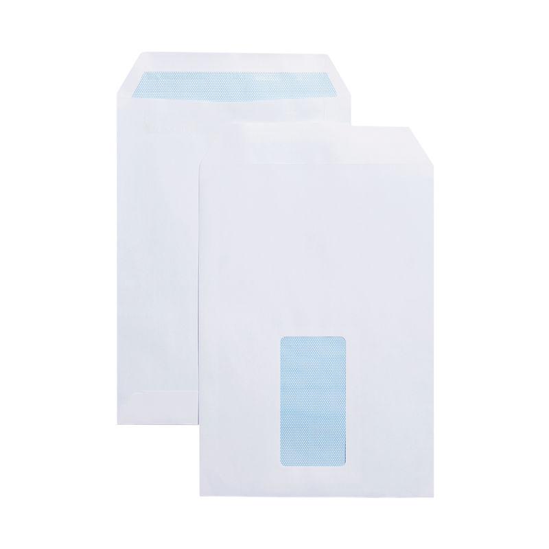 C5 White Window Envelopes 80gsm, Self Seal | Medical Supermarket