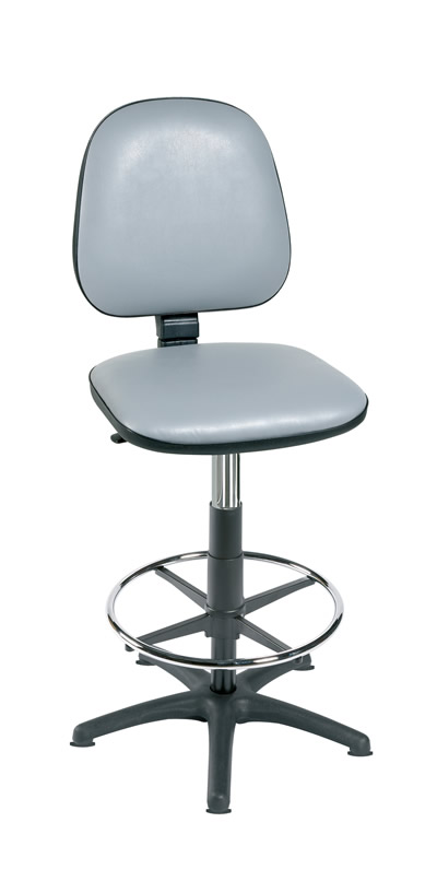 High Level Gas-Lift Chair with Foot Ring | Medical Supermarket