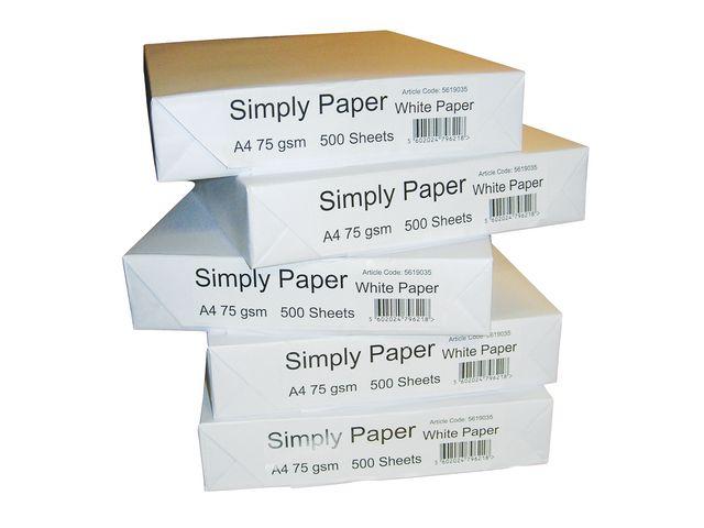 A4 Standard Copier Paper | Medical Supermarket