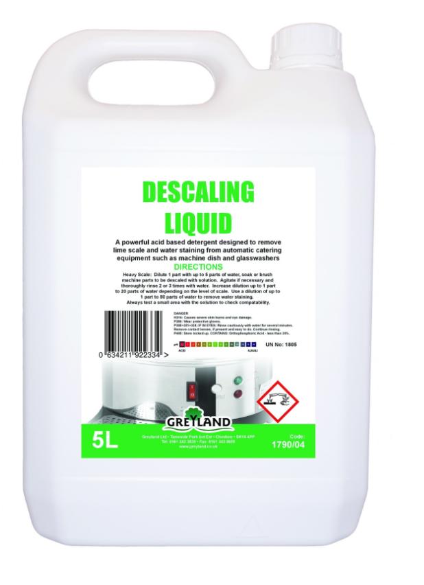 Descaling Liquid Concentrate 5 Litre - Pack of 1 | Medical Supermarket