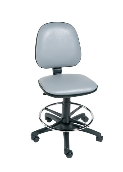 Gas-Lift Chair with Foot Ring   Medical Supermarket