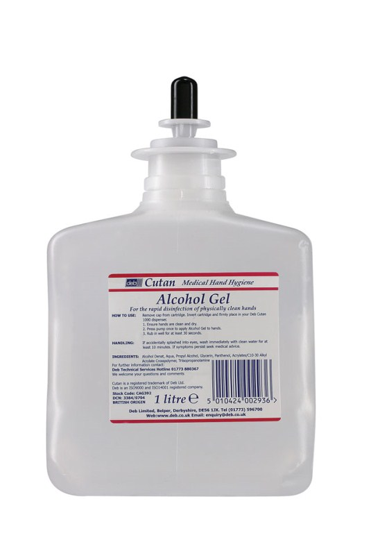 Deb Cutan Alcohol Gel Cartridge | Medical Supermarket