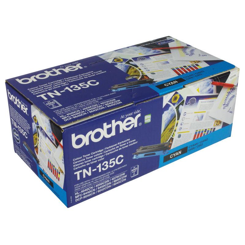 Brother TN135 High Capacity Toner Cyan | Medical Supermarket
