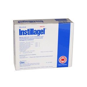 (POM) Instillagel - 6ml - Pre-filled Syringe - (Pack 10) | Medical Supermarket