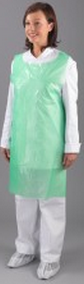Aprons on a Roll Green | Medical Supermarket