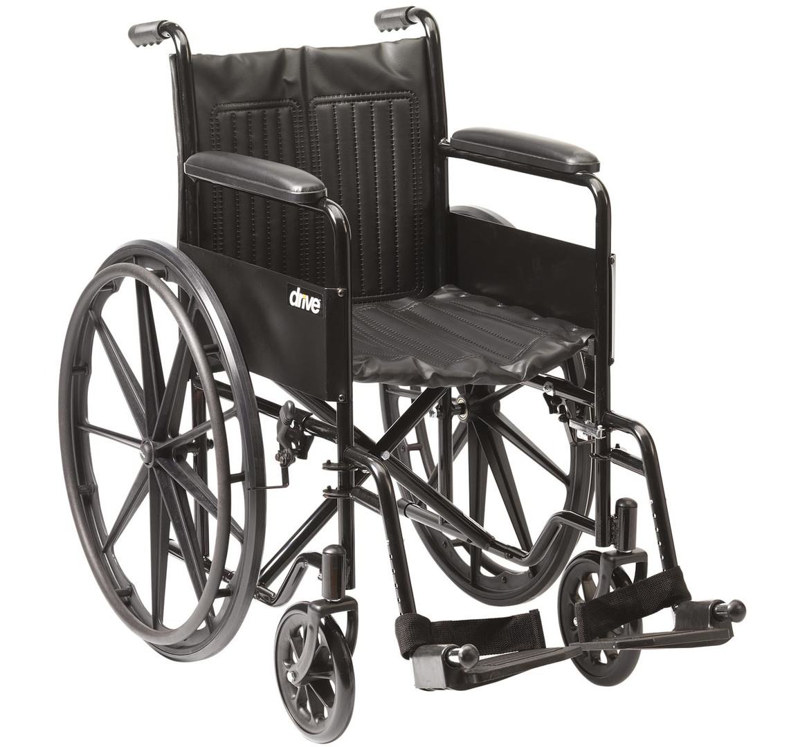 Budget Transit Wheelchair with Solid Tyres | Medical Supermarket
