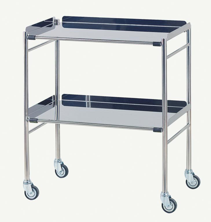 Hastings Stainless Steel Trolley 610 x 460mm | Medical Supermarket