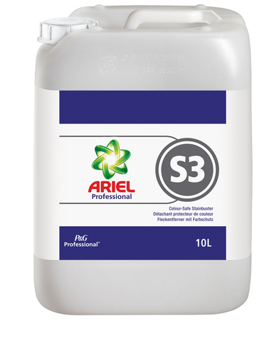P&G Ariel Professional S3 Colour Safe Stain Buster 10L | Medical Supermarket