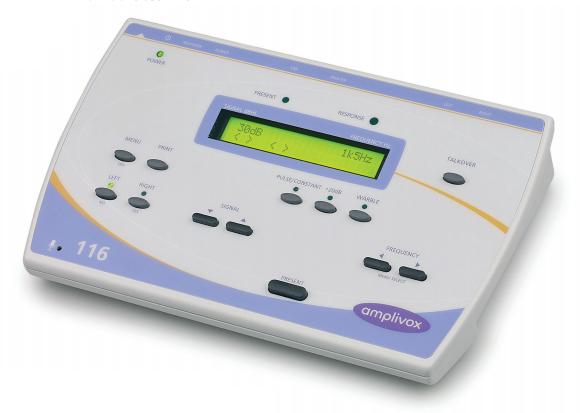 Amplivox 116 Screening Audiometer | Medical Supermarket