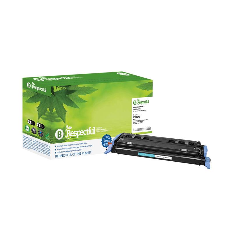 Compatible HP No.124A Toner Cartridge Cyan | Medical Supermarket