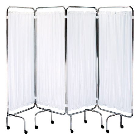 Sidhil Screen Frame Panels Only White Panels | Medical Supermarket