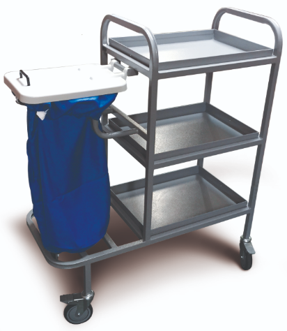 Bed Changing Trolley with Removable Shelves and Lid | Medical Supermarket