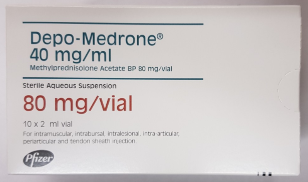 (POM) Depo-Medrone & Lidocaine 80mg/ml 2ml | Medical Supermarket